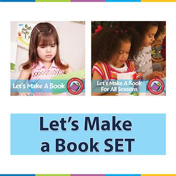 Let's Make a Book SET Gr. 1-2
