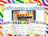 Let's Make a Pattern Activity Sheets