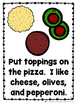 Let's Make a Pizza  (A Sight Word Emergent Reader and Teacher Lap Book)