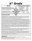 Let's Make a Robot!  (6th Grade)