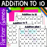 Let's Make a Square! Addition to 10 Partner Game