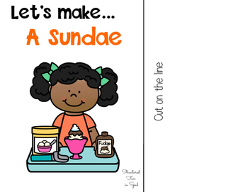 Let's Make a Sundae Interactive Book