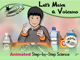 Let's Make a Volcano - Animated Step-by-Step Science - Regular