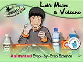 Let's Make a Volcano - Animated Step-by-Step Science - SymbolStix