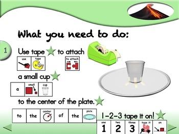 Let's Make a Volcano - Animated Step-by-Step Science - SymbolStix