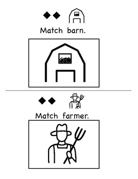 Let's Match: Farm Animals