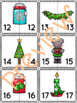 Let's Match Numbers Puzzles –It's Christmas Time – Version 1