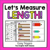 Let's Measure Length! {Motivated Math}