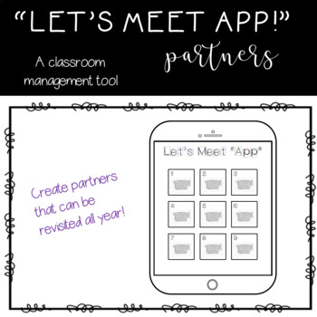 Let's Meet App! An Alternative to Clock Partners