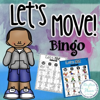 Let's Move! Bingo