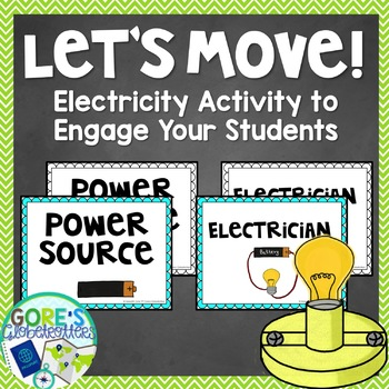 Let's Move! Electricity Activity