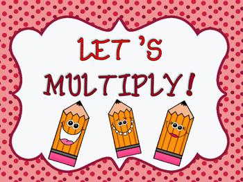 Let's Multiply! (FULL PRODUCT)