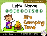 Let's Name Adjectives- It's Camping Time- A Summer Interactive Book