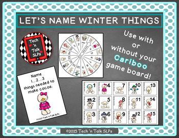 Let's Name Winter Things (with or without Cariboo)