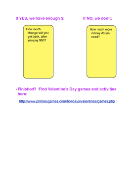 Virtual Field Trip: Let s Plan a Valentine's Party