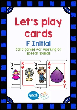 Let's Play Cards : F Initial