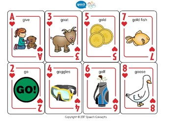 Let's Play Cards : G Mixed positions