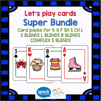 Let's play cards - Super ARTIC BUNDLE