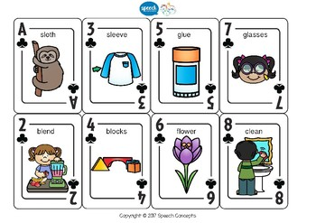 Let's Play Cards L Blends
