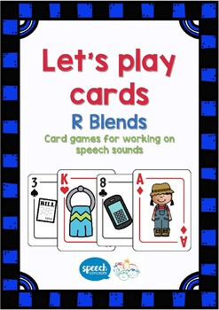 Let's Play Cards R Blends