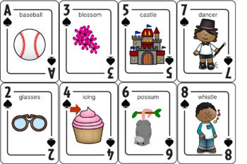 Let's Play Cards : S Bundle