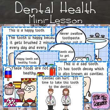 Let's Play Dentist: Dental Health Mini Lesson with Fine Motor Activities