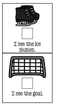 Let's Play Hockey! - Adapted Book for Special Education or Early Childhood