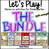 Let's Play! Hands-on Kindergarten Activities {Literacy and