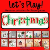 Let's Play! Kindergarten Christmas Activities {Literacy and Math}