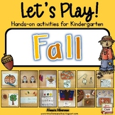 Let's Play! Kindergarten Fall Activities {Literacy and Math}