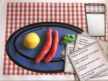 Let's Play: Play dough and Play Mats for Language therapy