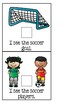 Let's Play Soccer! - Adapted Book for Special Education or Early Childhood