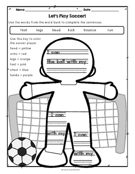 Let's Play Soccer by Ian Douglas, Guided Reading Lesson Plan Level E