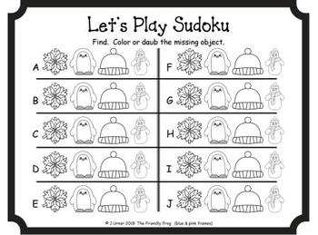 Let's Play Sudoku (January Edition)