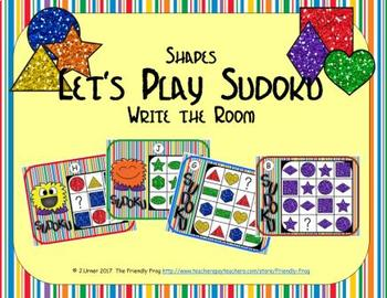 Let's Play Sudoku (Shapes Edition)