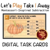 Let's Play Take 1 Away      Google Slides Subtraction Task