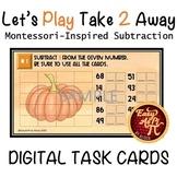 Let's Play Take 2 Away  |   Google Slides Subtraction Task
