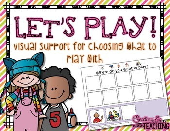 Let's Play {Visual Support for Autism}