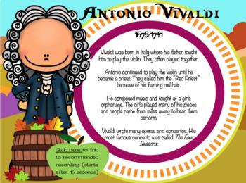 Let's Play Vivaldi's Autumn
