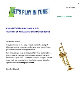 Let's Play in Tune, Trumpet