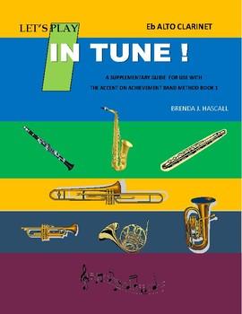 Let's Play in Tune, Alto Clarient