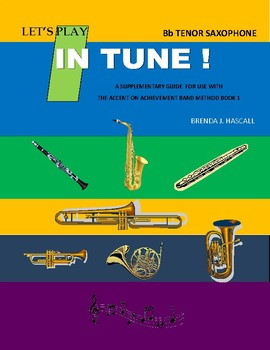 Let's Play in Tune, Tenor Saxophone