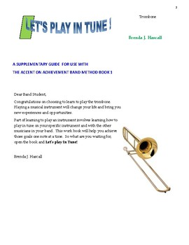 Let's Play in Tune, Trombone