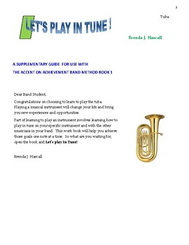 Let's Play in Tune, Tuba
