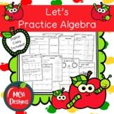 Algebra Practice