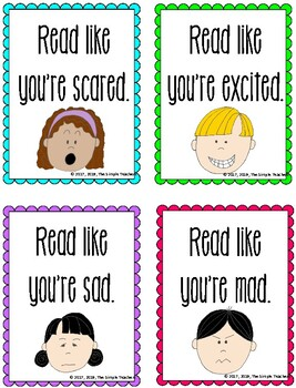 Let's Practice Fluency! Fluency voices, genres, homework, and center games!