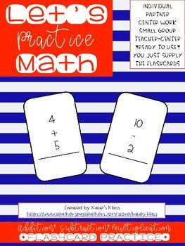 Let's Practice Math!