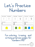 Let's Practice Numbers