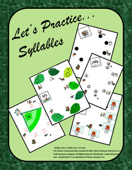 Let's Practice Syllables