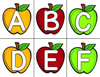 Let's Practice the Alphabet! {year long bundle}